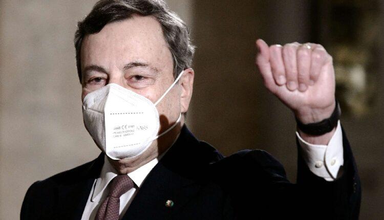 رئيس الوزراء الإيطالي ماريو دراغي يعلن استئناف التطعيم بلقاح أسترازينيكا غدًا