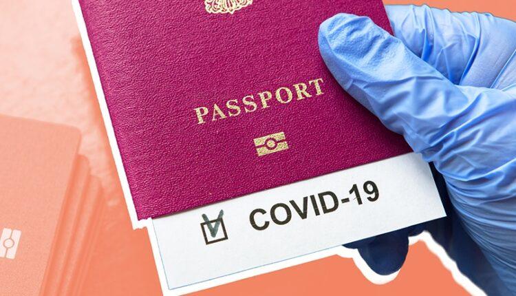 جواز سفر كورونا